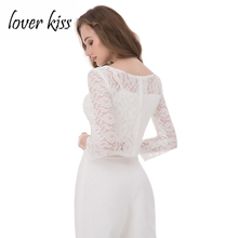 Lover Kiss Elegant 3 Pieces Set Lace Mother Of The Bride Pant Suits Long Sleeve Jacket Formal Evening Outfits For Women Plus