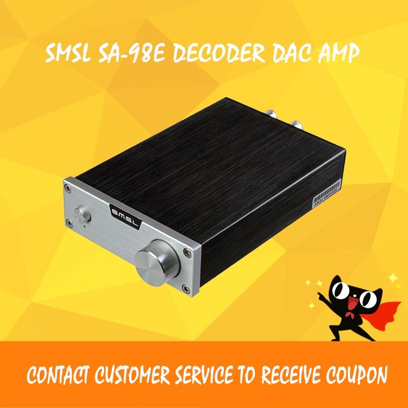 SMSL SA-98E աուդիո ուժեղացուցիչ 2.1 դասի d - Տնային աուդիո և վիդեո - Լուսանկար 2