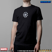 marvel Iron Man 1/1 Arc Reactor model Intelligent remote control voice wearable T shirt Special effects The Avengers