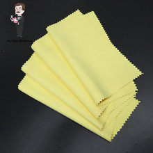 30*30cm 925 Silver Polish Jewelry Cleaner Cloth Tools DIY Jewelry Cleaning Polish Cloth Soft Jewelry Cleaner Necklace Tools C7