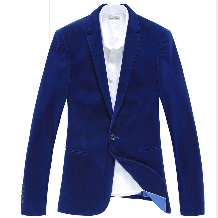 Popular Blue Corduroy Blazer-Buy Cheap Blue Corduroy Blazer lots
