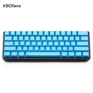 Image 5 - Wit Zwart Oranje blauw Leeg Dikke PBT OEM Profiel 61 ANSI Keycaps Voor MX Schakelaars dz60 gh60 Mechanische Toetsenbord