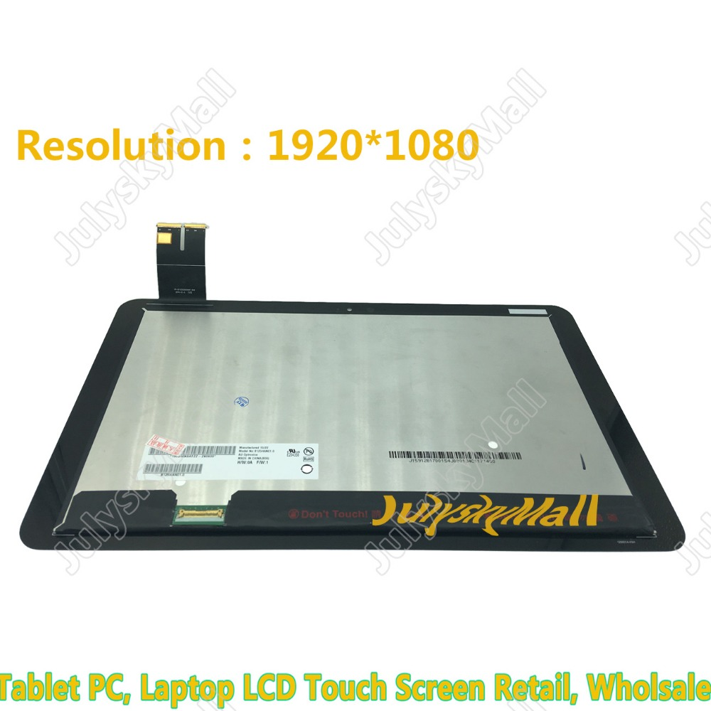 For ASUS T300CHI T3 chi Smart Touch + Display Parts B125HAN01.0 HD LCD Monitor 1920 * 1080 julyskymall original 12 5 inch lq125t1jx3c lcd display touch screen assembly 2560x1440 for asus t300chi t3 chi
