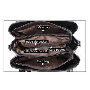 Image 4 - 패션 여성 가방 어깨 가방 여성 Tassel 럭셔리 핸드백 여성 가방 디자이너 sac 주요 브랜드 가죽 crossbody 가방