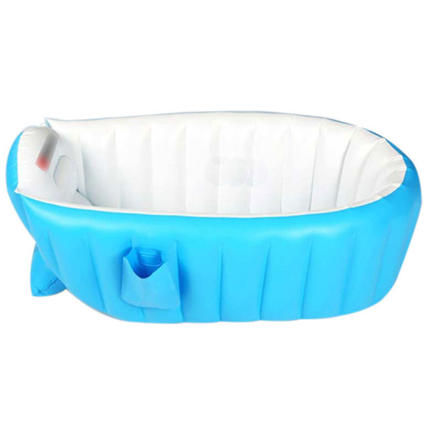 Tipo de alta qualidade 0-3 T Do Bebê inflável banheira de drenagem de Fundo & dobrável & função de armazenamento de material de proteção Ambiental