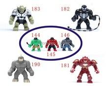 70pcs Big juggernaut Venom Green Hulk VS Hulk Buster Green Goblin Figures Toys Marvel Building Blocks Action Figures Bricks Toys