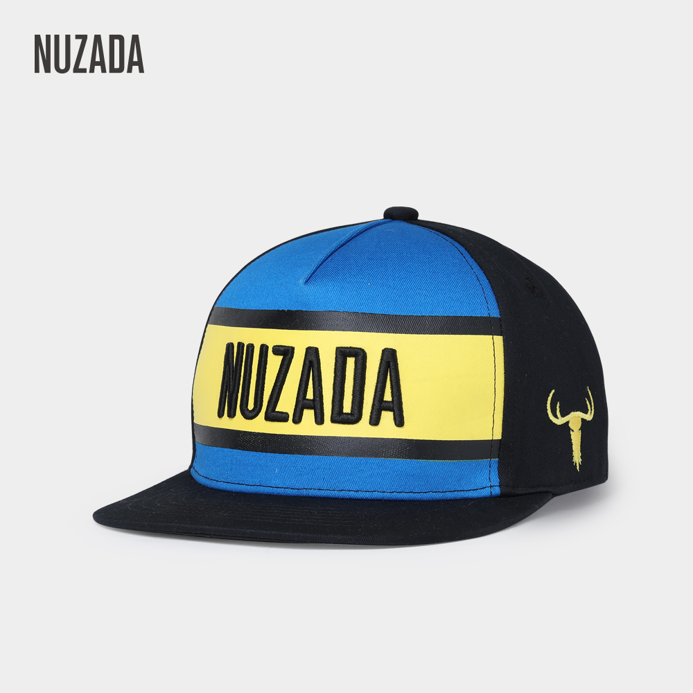 NUZADA Spring Summer Autumn Hip Hop Cap For Men Women Couple Bone Hat Silk Screen Printing High Quality Caps