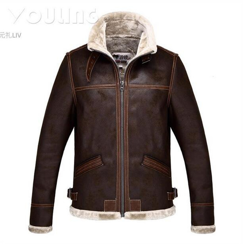 Hot Sale High Quality  Winter Warm Coat Resident EVIL 4 Leon Kennedy  Cosplay Jacket Cosplay  Faux Leather Costumes  CS288266