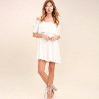 S FLAVOR Brand Women Dress 2017 Summer Sexy Plus Size Dresses Vestido Off Shoulder Dress Party