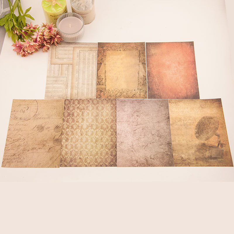 14pcs/Pack 15*20cm Vintage Retro Patterned Paper Pad For Scrapbooking DIY Happy Planner Card Making Journal Project