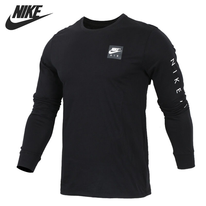 Original New Arrival 2018 NIKE NSW TEE AIR Men's Pullover Jerseys Sportswear adidas original new arrival official neo women s knitted pants breathable elatstic waist sportswear bs4904