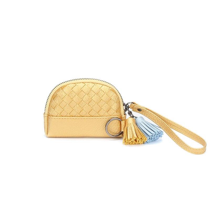 2018 New Zipper Small Coin Purse Mode Kvinnor Sticka Kort Mini Tassel - Plånböcker - Foto 1
