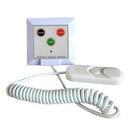 433.92 mhz 10 pcs chamada sino campainha de chamada de paciente do hospital de Emergência para idosos crianças casa de enfermagem clínica K-W3-H