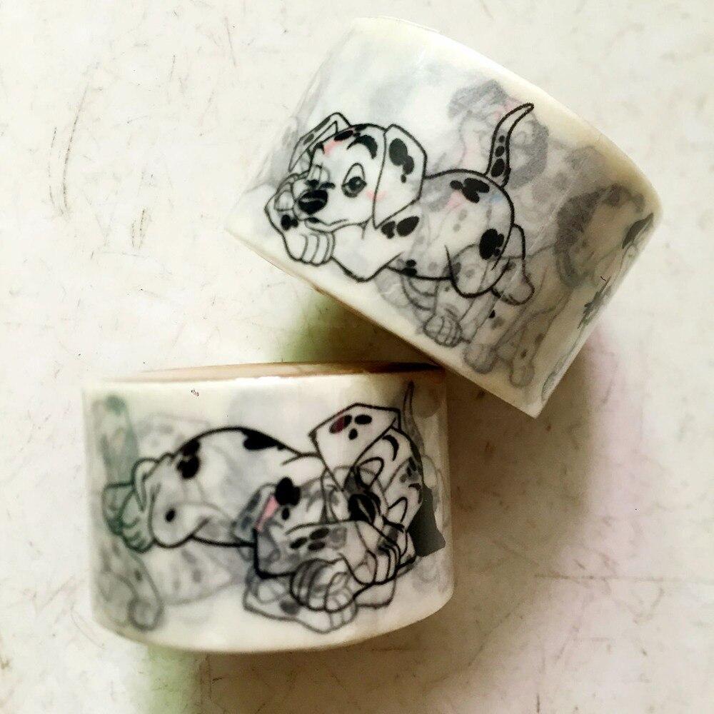 Lovely High Quality 30mm*10m  Washi  Tape/Dog  Diy And Masking Japan Washi Tape