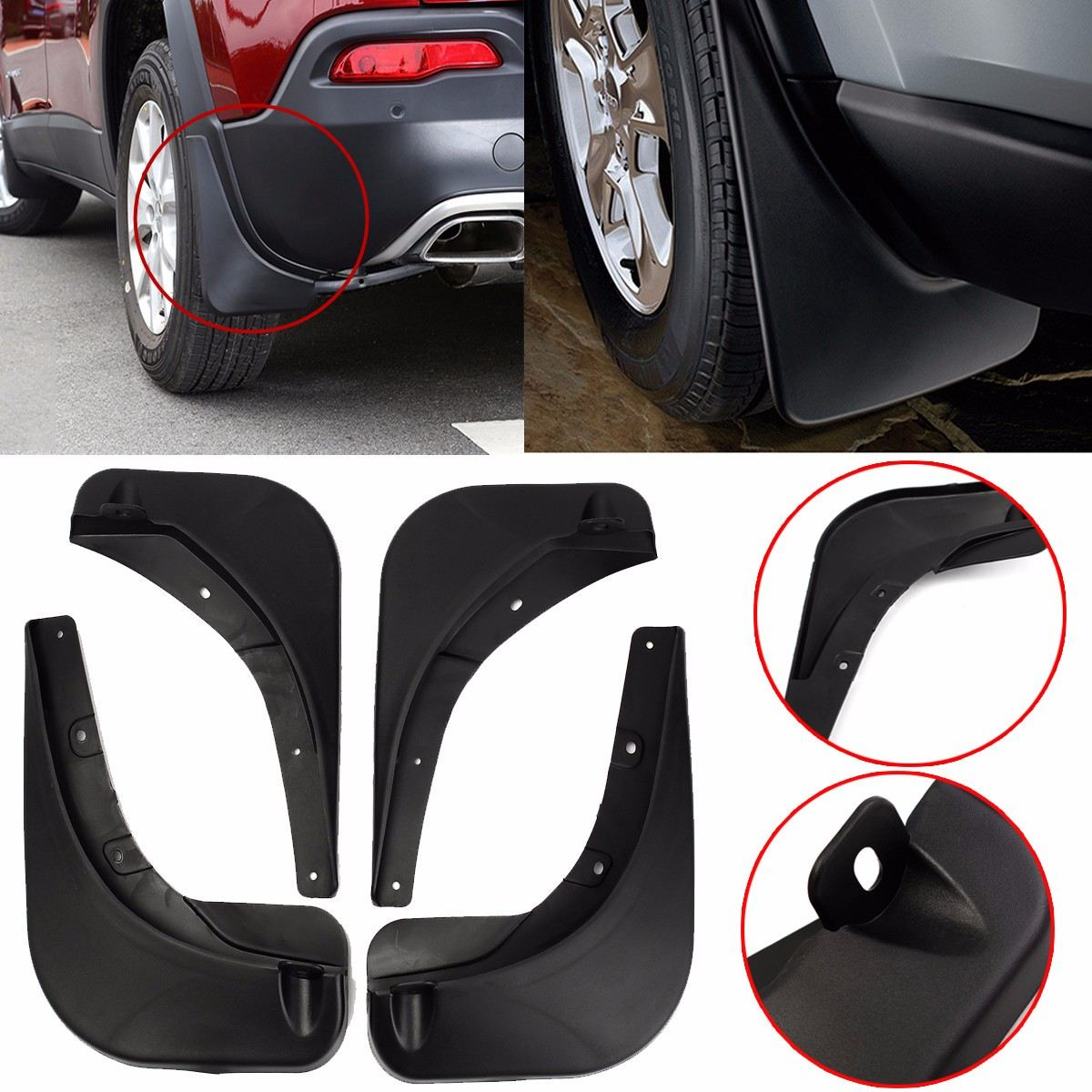 Mud Flaps For Jeep Renegade 2015 2016 2018 Series