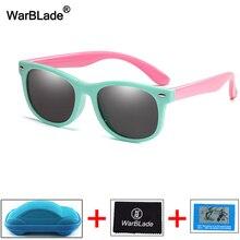 Детские поляризованные солнцезащитные очки для мальчиков и девочек, небьющиеся силиконовые защитные солнцезащитные очки, UV400 очки, детские очки с коробками