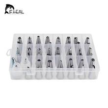 51pcs/set Silicone Icing Piping Tips