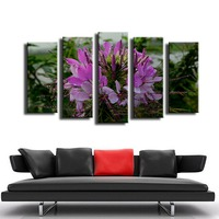 5PCS Sign of last night rains wall painting for home decor oil painting wall art print canvas No Framed wall picture