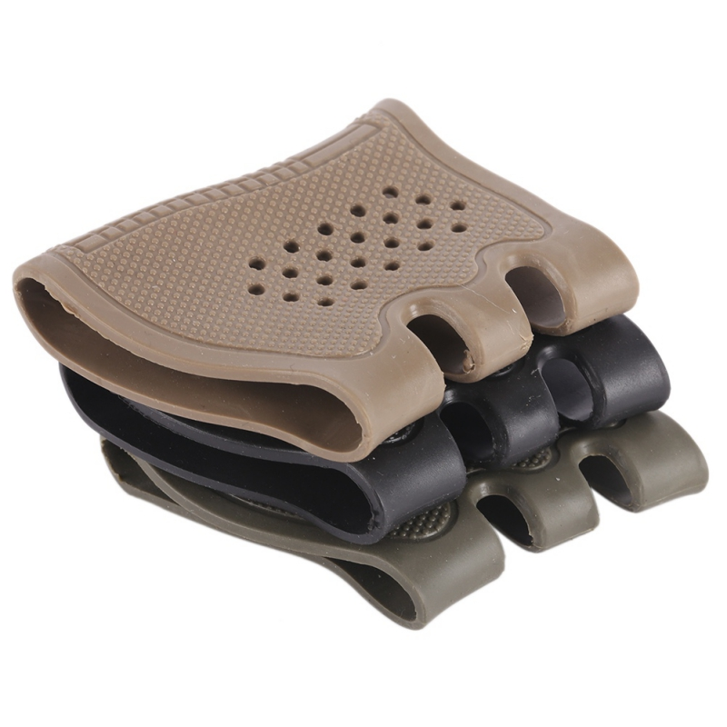 Tactical Handgun Pistol Rubber Protect Cover Grip Glove Tactical Anti Slip Glock Holster Hunting Accessories Anti Slip