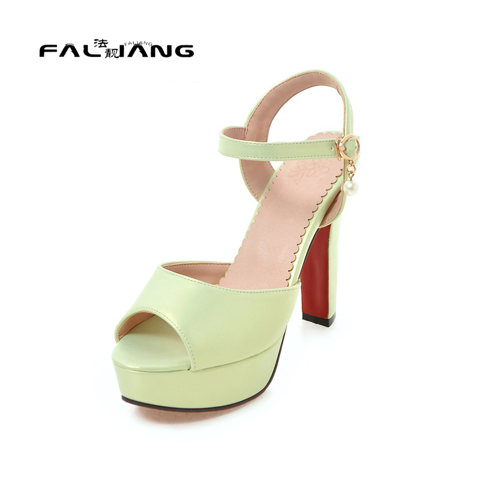 Womens sandals size 13 - Big Size 11 12 13 Fashion Buckle Casual Square Heel Women S Shoes Extreme High Heels Sandals