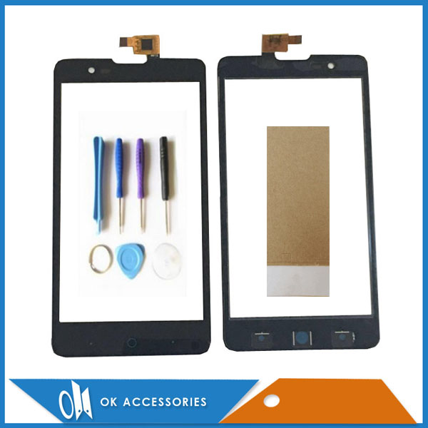 High Quality For ZTE Blade L3 Plus For ZTE Blade HN V993W Touch Screen Digitizer Screen Black Color Tape With Tools 1PC/Lot.