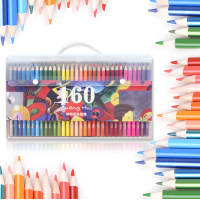 120 160 Colors Oil Color Pencils Wood Colored Pencils Set Lapis De Cor Artist Painting For