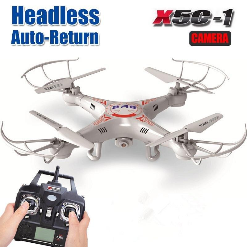 Phoota 2G x5c-1 2.4 GHz 4ch 6 AXIS Gyro RC quadcopter drone helicópteros UAV UFO Cámara 8 minutos Control remoto