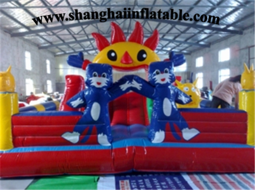 Inflatable fun city inflatable indoor playground new design Inflatable Fun City Games For Kids indoor children soft playground electric play toys for play center amusement indoor playground equipment ina1555