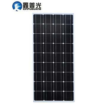 XINPUGUANG 100w Solarpanel Monokristalline Siliziumzelle 18v Solarmodul Gehärtetes Solarzelle für 12v Batterie Photovoltaik einkristallines Silizium Solarglas Sonnenpaneel