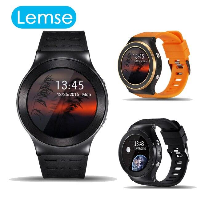 MTK6580 Lemse S99 3 Г Smart watch Phone Android 5.1 OS 1.33 дюймов Quad Core 512 МБ/8 ГБ Сердечного ритма Google Play GPS WiFi Наручные Часы