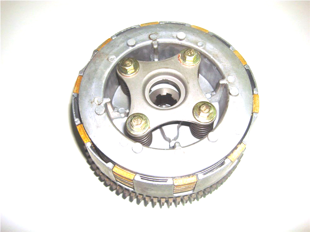 Для мотовездехода jianshe 250cc Двигатель сцепления узел пластины bashan quad ATV250 часть quad аксессуары Бесплатная доставка
