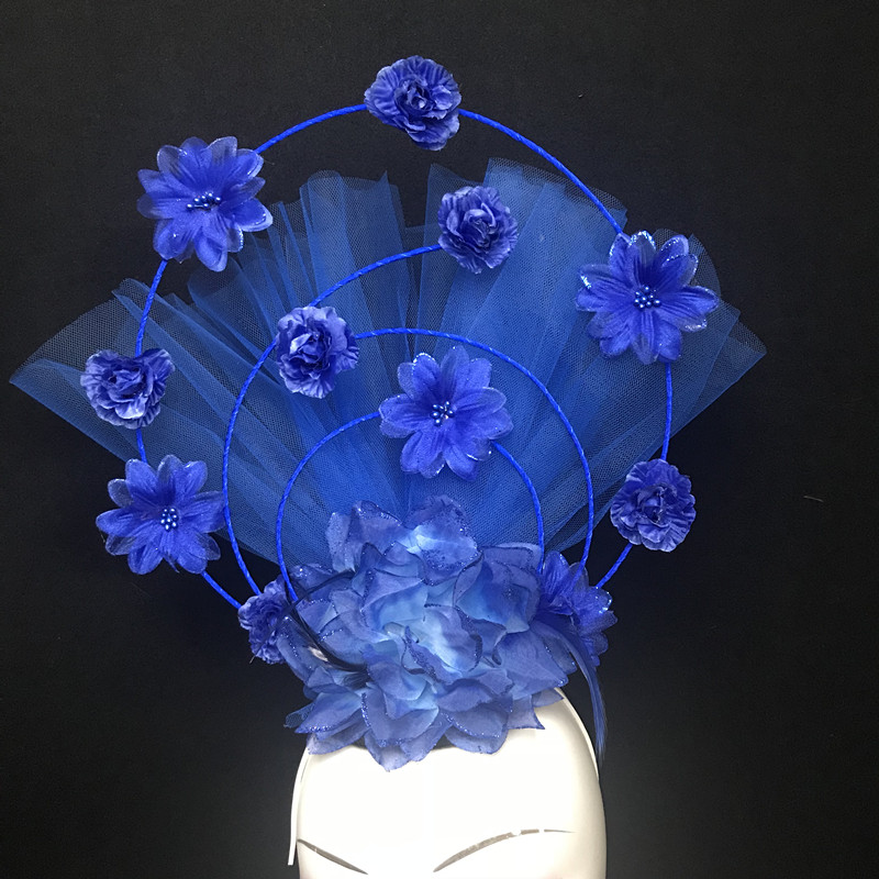 Venice Artificial flower creative headdress Halloween Party Clothing accessories Christmas Stage Catwalk Exaggerated Headwear