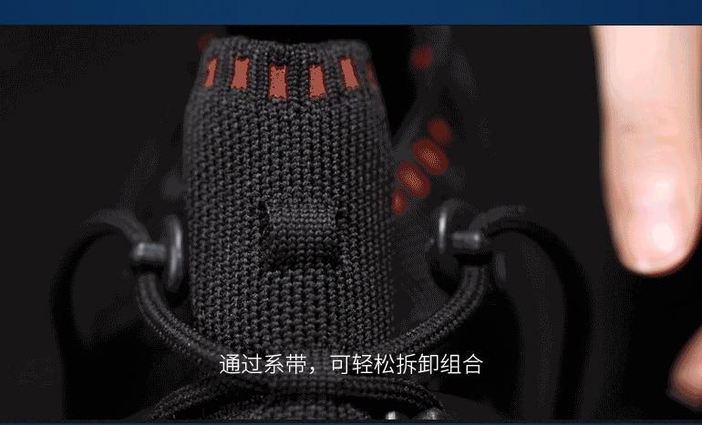 ONEMIX Casual Sneakers zapatos multiusos para Hombre Zapatos Deportivos Unisex zapatillas para correr al aire libre calcetines de Yoga zapatos deportivos - 3