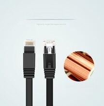 3M 10FT  Pure copper wire CAT6 Flat UTP Ethernet Network Cable RJ45 Patch LAN cable black white color цена
