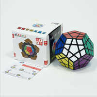 SHENGSHOU megaminxe magic cubes sticker speed professional 12 sides puzzle cube magic educational toys for children gift