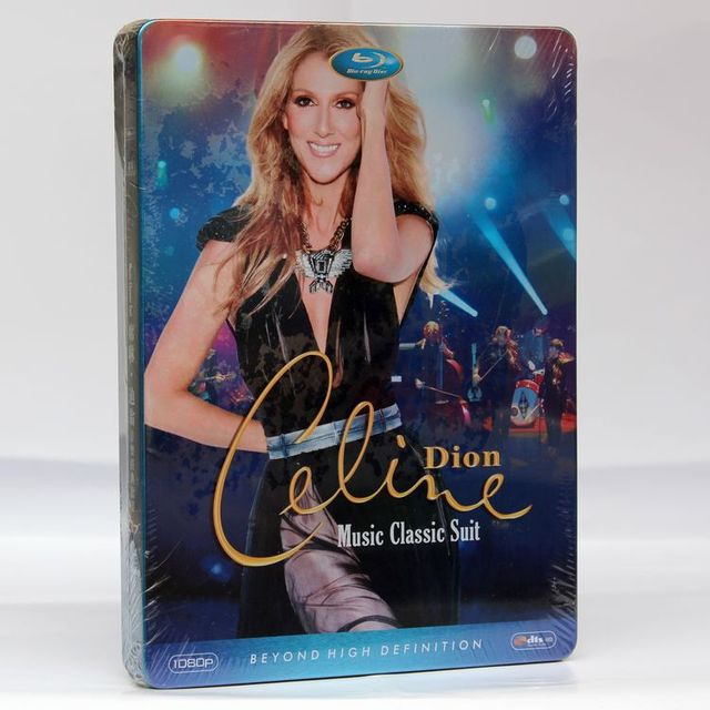 Celine Dion Al Collection Hd 7dvd Full Box Set Sealed Free Shipping High Quality