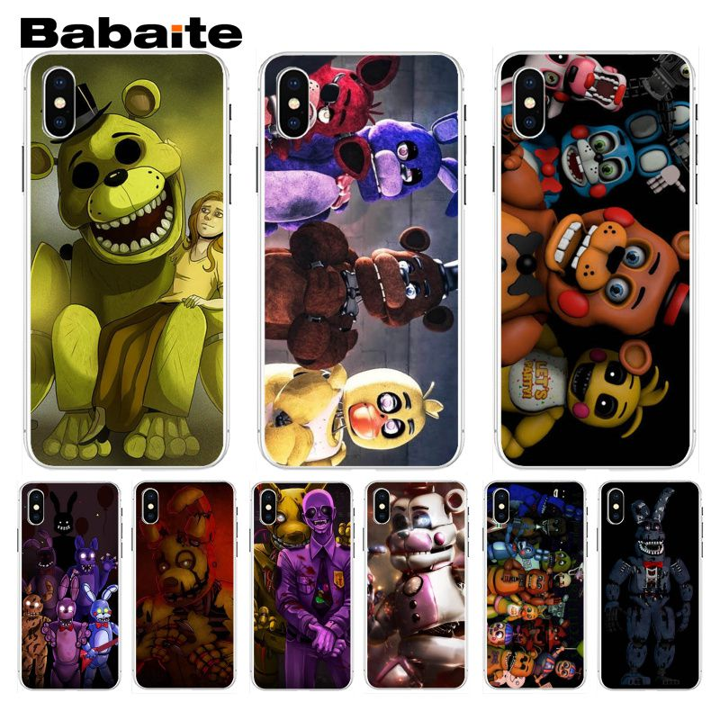 US $0 81 28% OFF|Babaite Funny sfm fnaf animatronics Art Stylish Phone Case  For iphone 7 7plus X 8 8plus And 5 5s 6s 6s Plus Mobile Phone Case-in