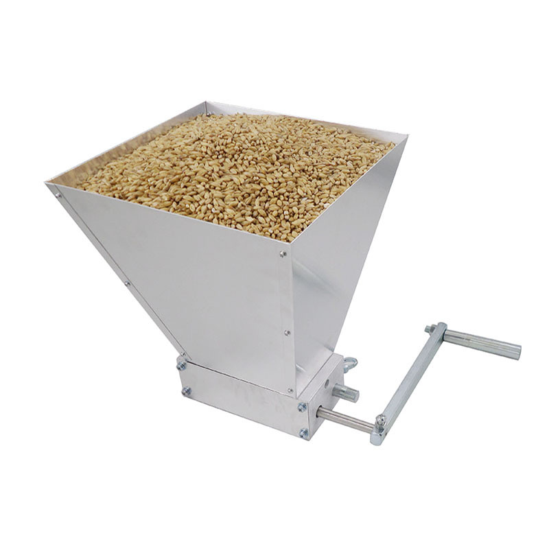 Factory Price New Barley Crusher Malt Grain Mill with 2 Stainless roller for Home brewing mill