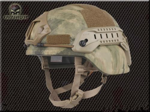 Тактический Велоспорт CS пневматический пистолет спортивный шлем EMERSON ACH MICH 2000 специальное издание шлем EM8978 8 цветов - Цвет: ATACS
