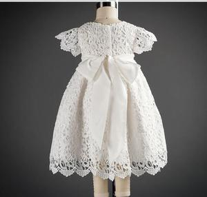 Платья для крещения на день рождения для маленьких девочек 1 год, платья на крестины для маленьких девочек, пышное кружевное платье для свад...