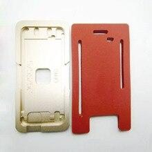 Алюминиевые формы для iPhone x xs max xr 5/6/6 S/7/8/8 plus ламинаторы металла на переднее стекло с рамкой местоположение для ОСА пользователя