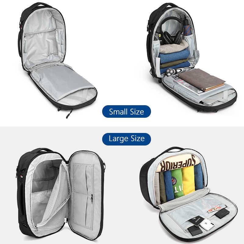 OZUKO для мужчин универсальный 15,6 дюймов ноутбука Рюкзаки 2019, новая мода школьная сумка для подростка водостойкий мужской Mochila дорожные сумки