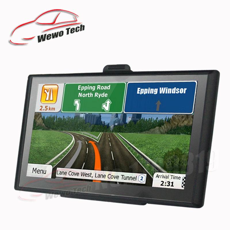 New 7 inch HD Car Gps Navigation 8GB FM s