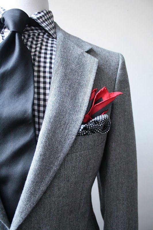 2017 Dostosowane Vintage Jasnoszary Męskie jodełkę tweed garnitur/garnitury ślubne garnitury Ślubne dla mężczyzn 3 sztuka (jacket + spodnie + krawat)
