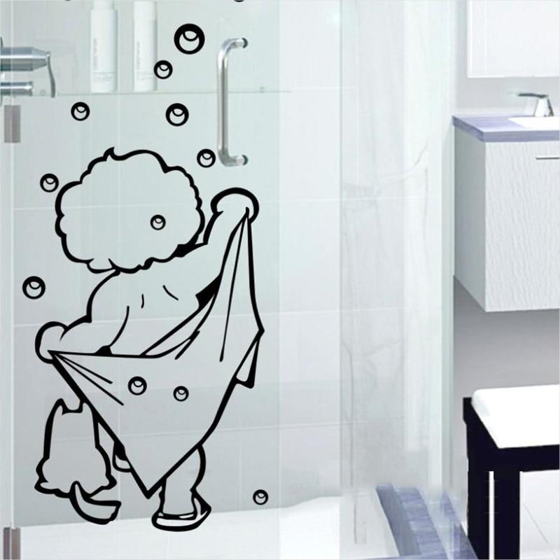 Открытки, прикольные картинки на ванную комнату