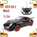 Grandes Fans Regalo 1/14 GT3 911 Coche de Radio Control RC Motor Máquina eléctrica de Juguete Coche Divertido Vehículo Deriva En Movimiento Juego de La Familia Grande Racer