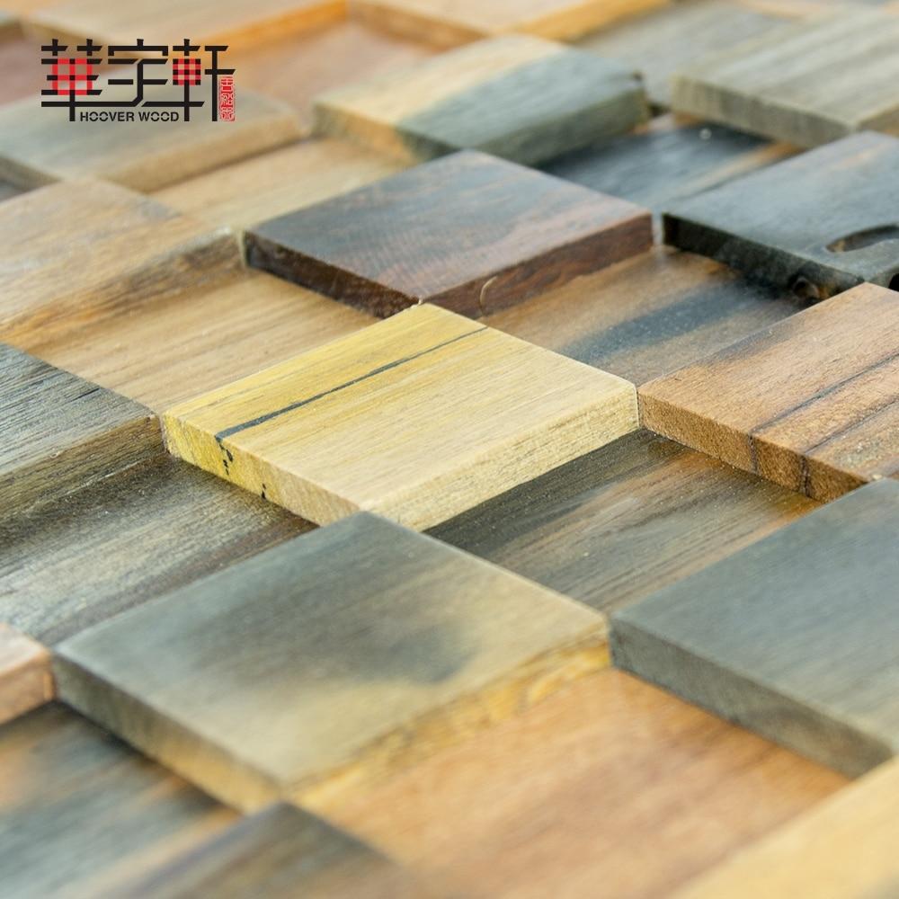 natural ship wood 3d ancient old boat wooden mosaic tiles wall ...