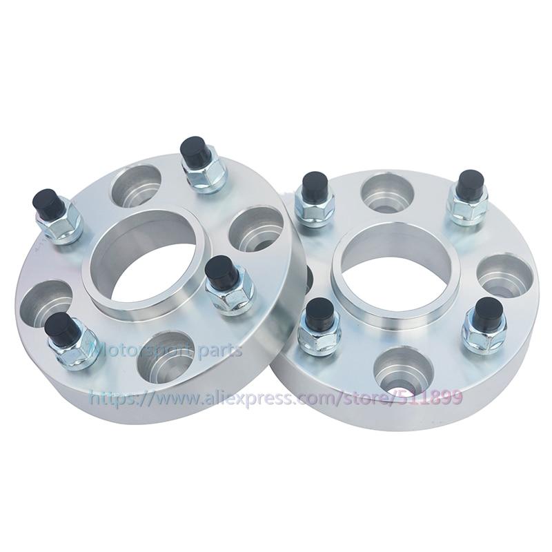 2Pcs/lot) 15mm/20mm PCD 4x100-56.1mm Tire Widened Flange Car Wheel Hub Spacer For Mini Cooper (2001-2005)