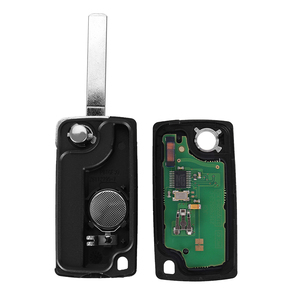 Image 4 - KEYYOU 2 Buttons Auto Car Remote Key Fob ID46 Chip For Peugeot 207 307 308 407 807 433MHz VA2 Blade CE0536