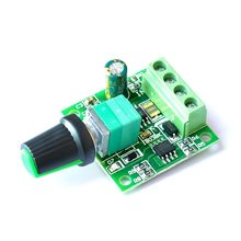 Постоянный ток 1,8 в 3 в 5 в 6 в 12 В 2A ШИМ контроллер скорости двигателя низкого напряжения регулятор скорости двигателя шим 0~ Регулируемый модуль привода